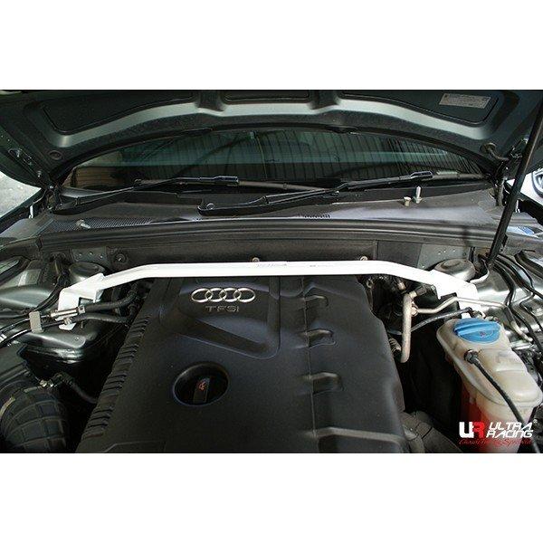 Ultra Racing Domstrebe vorn oben 2-Punkt - 07+ Audi A5 B8 (Type 8T) 2.0T (2WD/4WD)