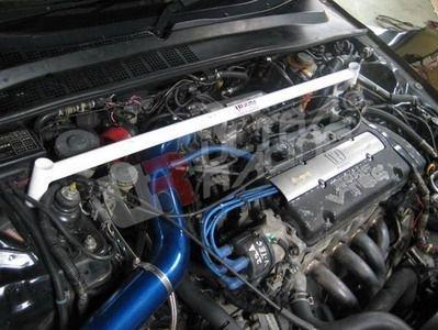 Ultra Racing Domstrebe vorn oben 2-Punkt - 91-96 Honda Prelude (BB1/4) H22A (2WD)