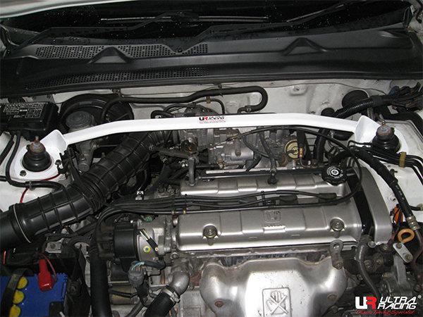 Ultra Racing Domstrebe vorn oben 2-Punkt - 97-01 Honda Prelude (BB5/6) H22A (2WD)