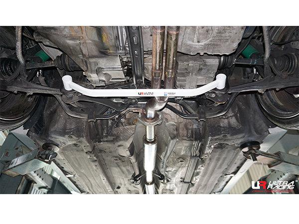 Ultra Racing Strebe vorn unten 2-Punkt - 91-01 Honda Prelude (BB1/BB4/BB5/BB6) H22A (2WD)