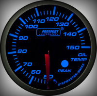 Prosport Racing Premium Serie Öltemperatur 52 mm,...