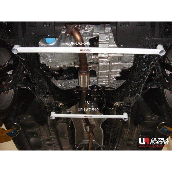 Ultra Racing Strebe vorn unten 2-Punkt - 08-17 Honda Accord (CP2) 2.0 (2WD)