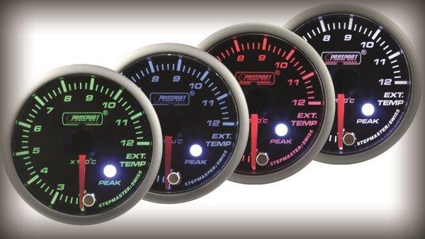 Prosport Racing Premium Serie Abgastemperatur