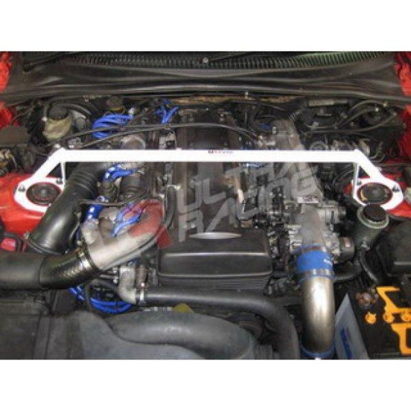Ultra Racing Domstrebe vorn oben 2-Punkt - 93-02 Toyota Supra (JZA80) 3.0 2JZ (2WD)