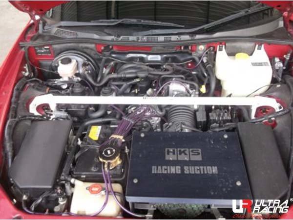 Ultra Racing Domstrebe vorn oben 2-Punkt - 03-12 Mazda RX-8 1.3 (2WD)