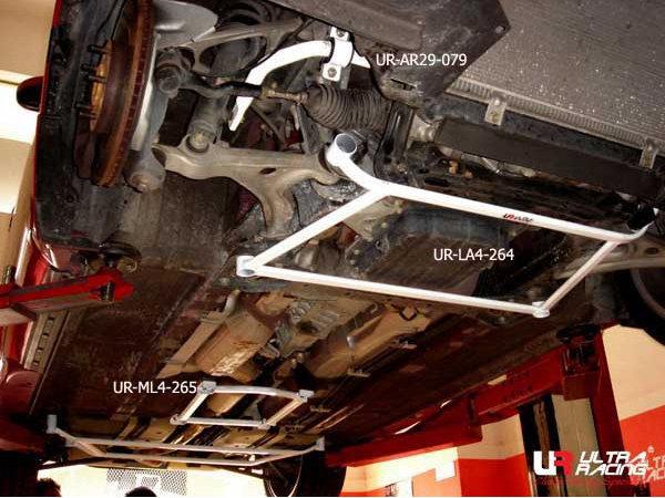 Ultra Racing Strebe vorn unten 4-Punkt - 03-12 Mazda RX-8 1.3 (2WD)