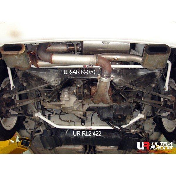 Ultra Racing Strebe hinten unten 2-Punkt - 99-03 Toyota MRS (W30) 1.8 (2WD)