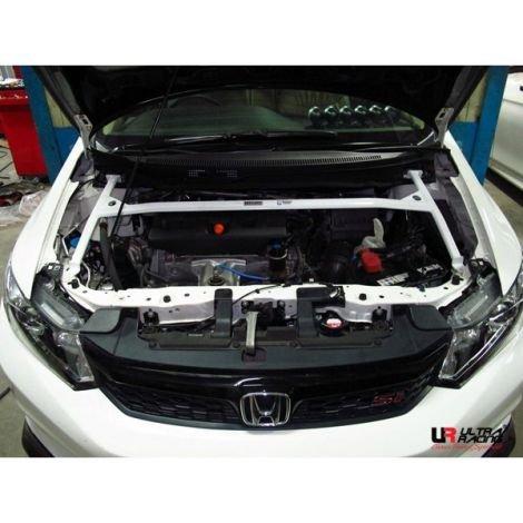 Ultra Racing Domstrebe vorn oben 4-Punkt - 12-15 Honda Civic (FB) 1.8/.2.0 (2WD)