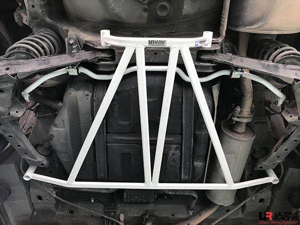 Ultra Racing Strebe hinten unten 4-Punkt - 06-15 Honda Civic (FB/FD1/FG1) 1.8/2.0 (2WD)