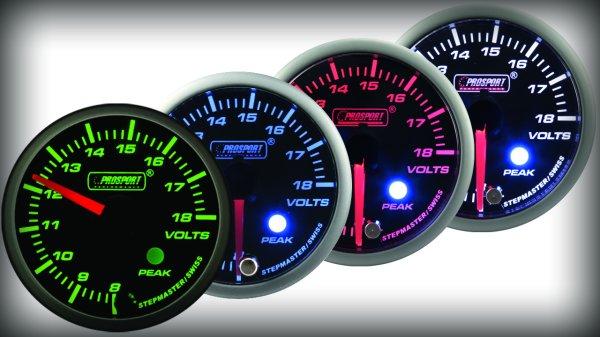 Prosport Racing Premium Serie Voltmeter