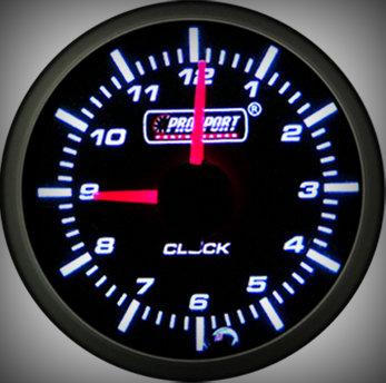Prosport Racing Premium Serie Uhr 52 mm, blau-weiß