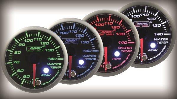 Prosport Racing Premium Serie Wassertemperatur