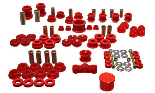EnergySuspension HyperFlex Master Kit rot - 94-01 Honda Integra