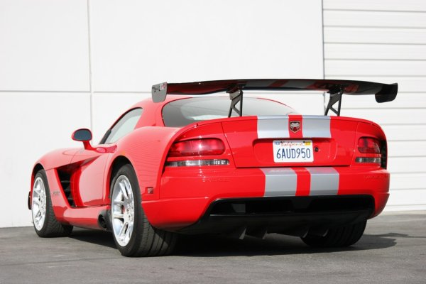 APR Performance GTC-500 Spoiler (verstellbar) 74 (188 cm) - 06-10 Dodge Viper Coupe