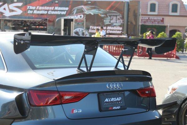 "APR Performance GTC-300 Spoiler (verstellbar) 67"" (170 cm) - 13-16 Audi S3"