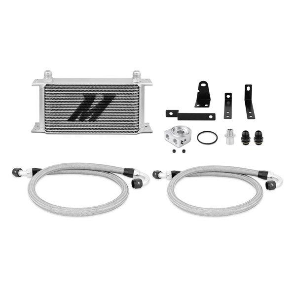 Mishimoto Ölkühler Kit silber ohne Thermostat - 00-09 Honda S2000