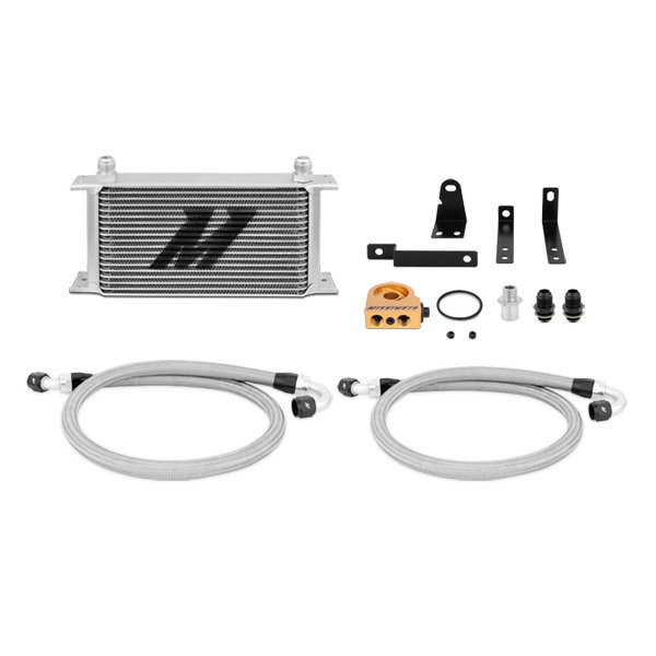 Mishimoto Ölkühler Kit silber mit Thermostat - 00-09 Honda S2000